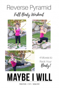 Reverse Pyramid Workout
