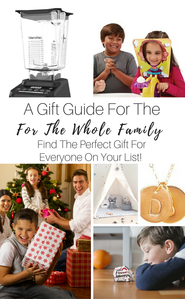 A Free 18 page downloadable Gift Guide!! Find The Perfect gift for everyone on your list!!