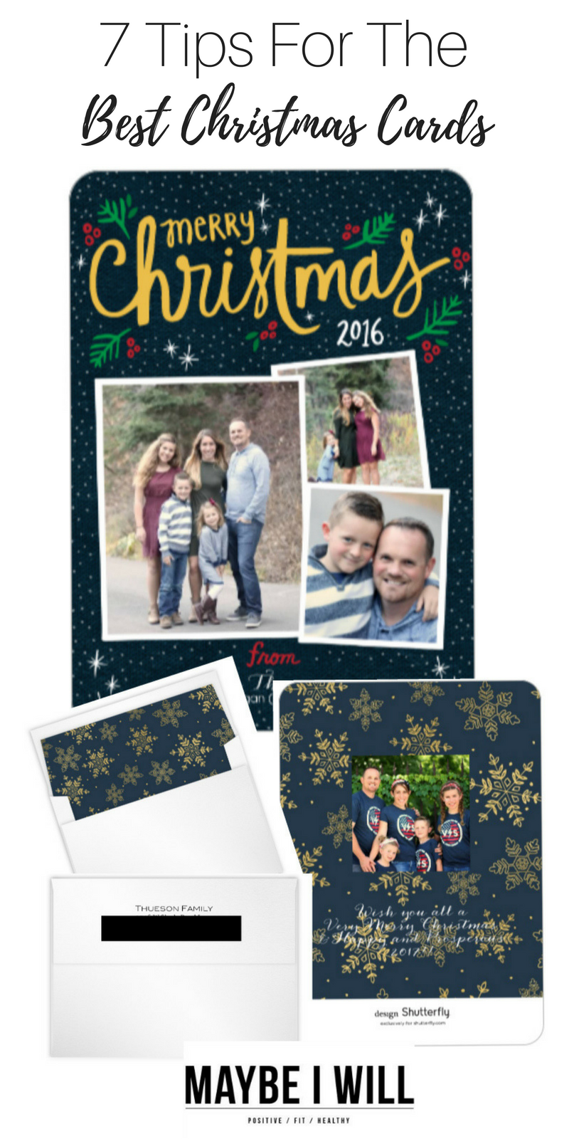 7 Tips For The Best Christmas Cards!