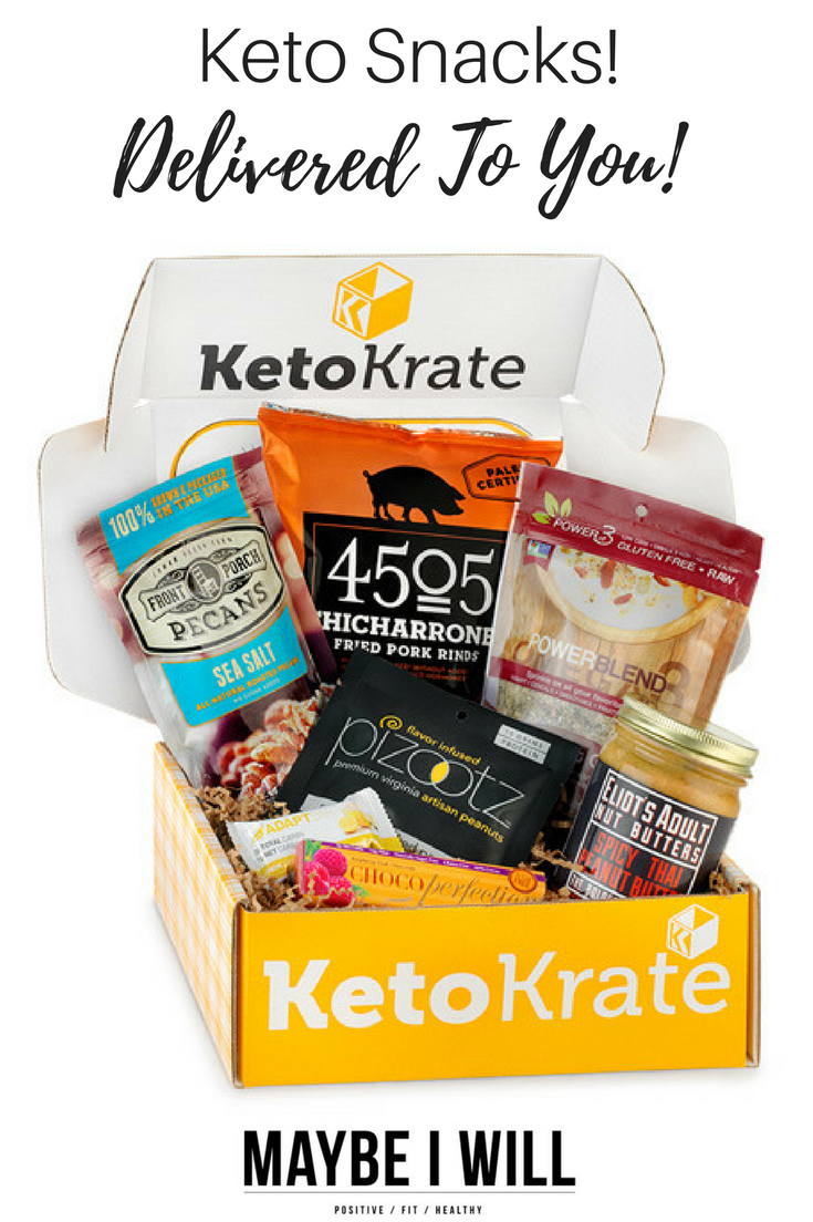 ]Keto Snacks can sometimes be hard to come by! Have a new and exciting assortment delivered to your door every month with Keto Krate.