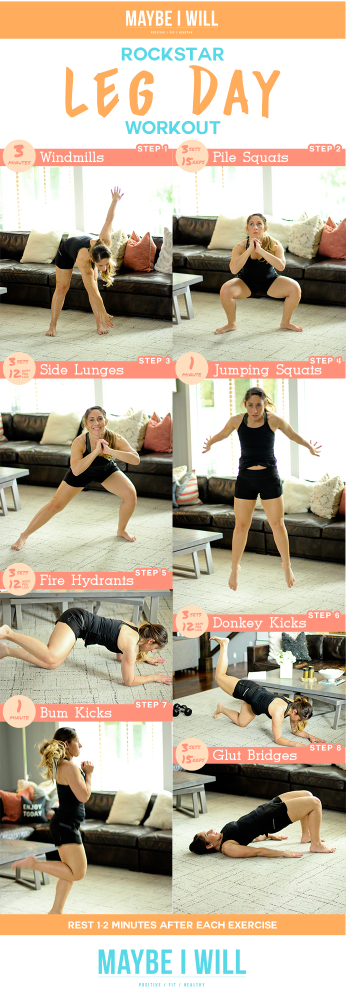 Rockstar Leg Day Workout