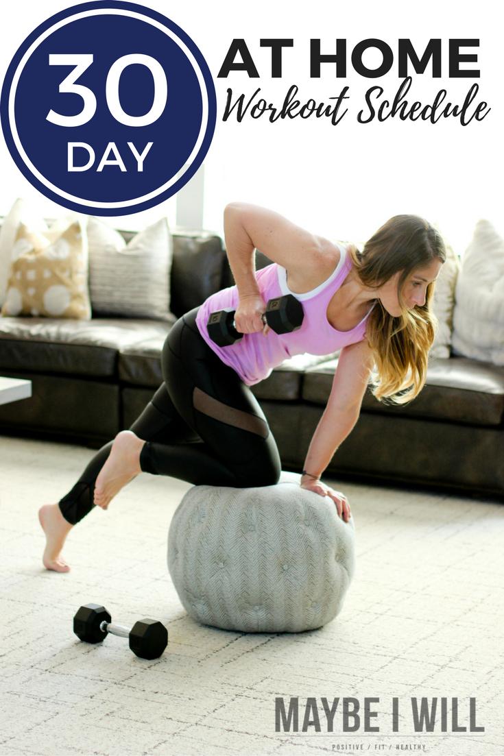 30 Day No Nonsense Workout Schedule (1)