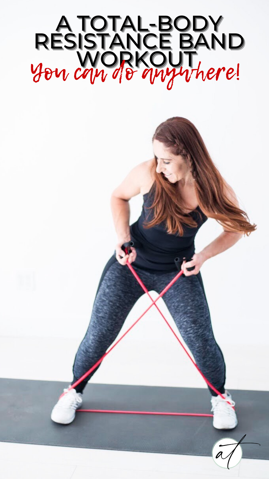 Total Body Resistance Band Workout! - Strength train wherever you may be! With this full-body sculpting resistance band workout!