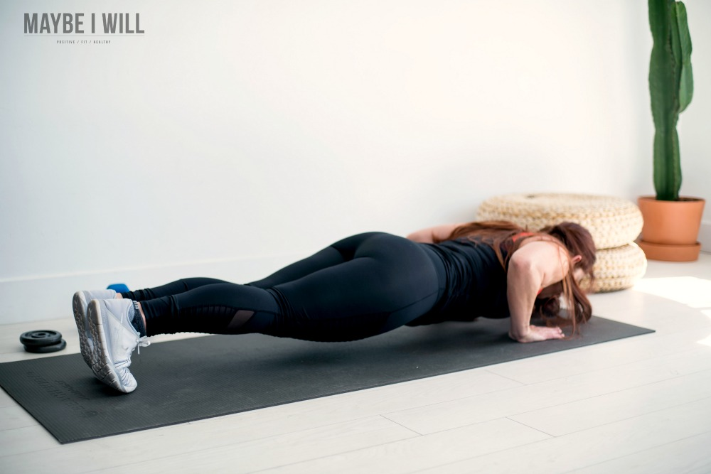 Push Ups for chest and tricep workout