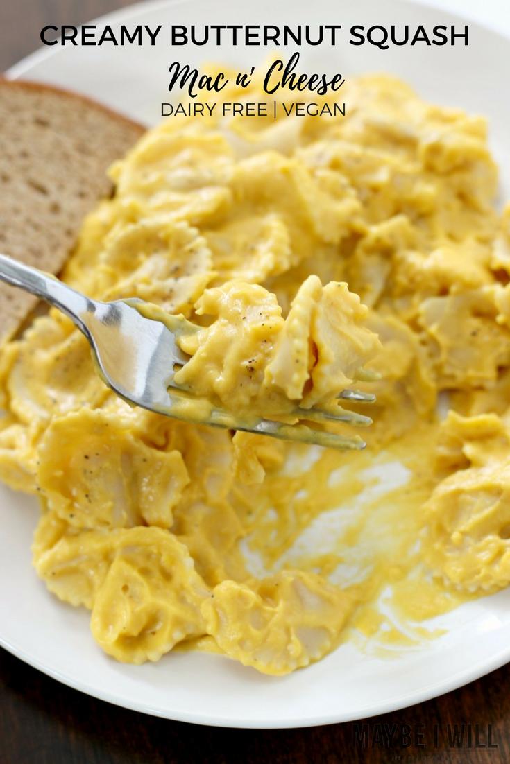 Creamy Butternut Squash Mac n' Cheese