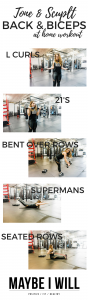 Sculpt and Tone Your Back and Biceps Workout