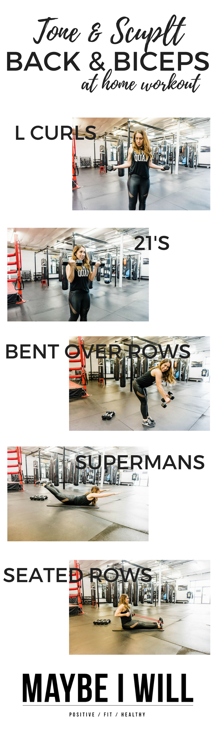 Sculpt And Tone Your Back And Biceps Workout Maybe I Will
