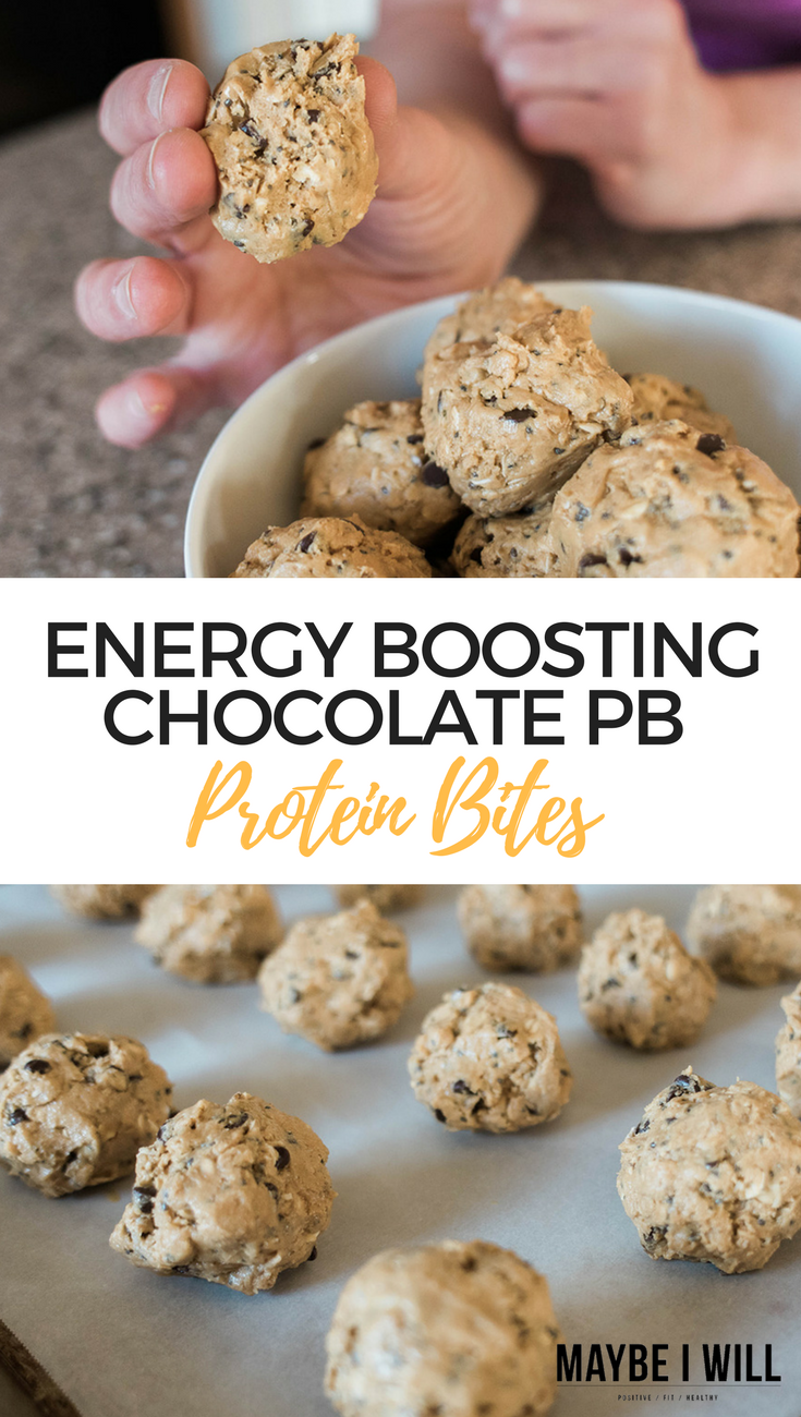 Energy Boosting Chocolate PB Protein Bites