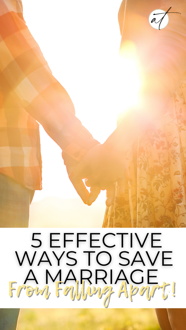 5 Effective Ways To Save A Marriage From Falling Apart!