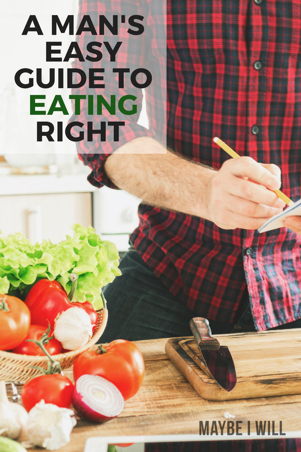 A Man's Easy Guide To Eating Right