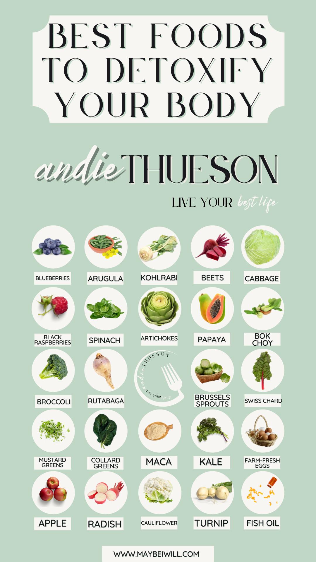 Best Foods To Detoxify Your Body