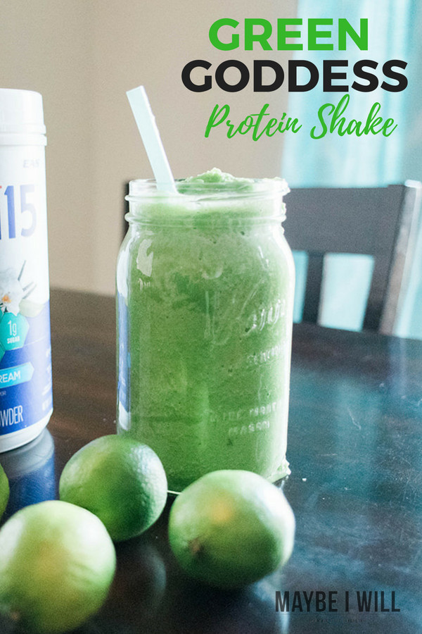 The perfect light and refreshing shake, perfect for post workout - this green goddess protein shake is full of nutrient rich ingredients to help you glow!