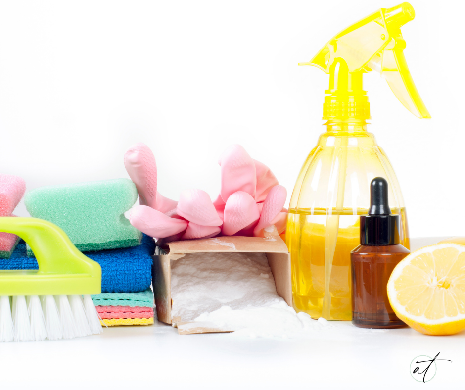 detoxify your life with getting rid of toxic heavy household cleaners, swap out for more natural or even use this recipe for an all natural homemade all purpose cleaner.