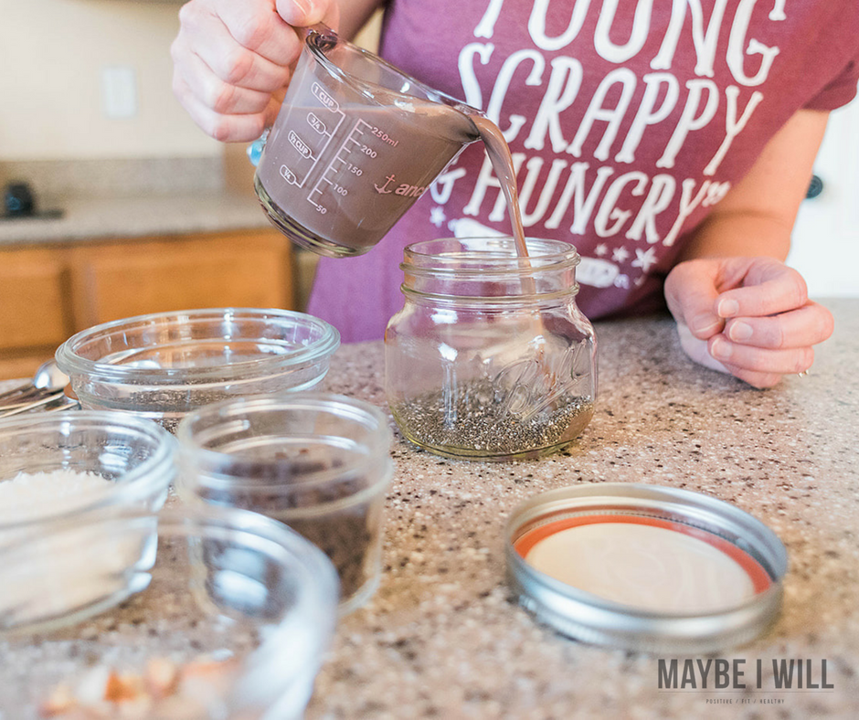 Joyful Almond Protein Packed Chia Seed Pudding