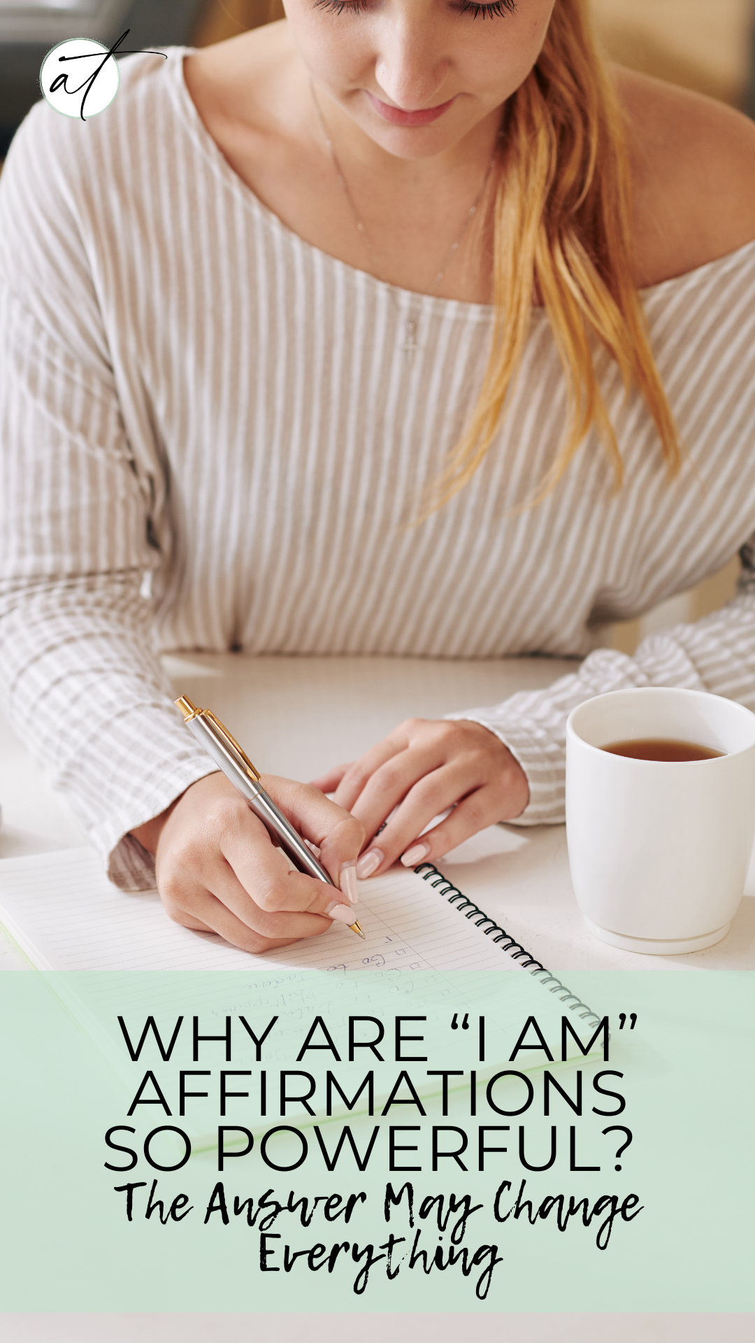 I am affirmations when used correctly can change everything!