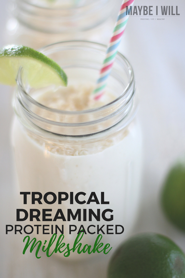 Tropical Dreaming Protein Packed Milkshake