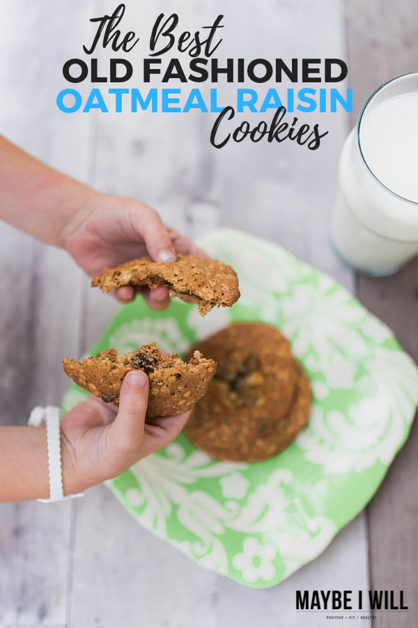 The Best Old Fashioned Oatmeal Raisin Cookies