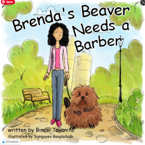 TikTok Viral Book Brenda's Beaver Needs a Barber
