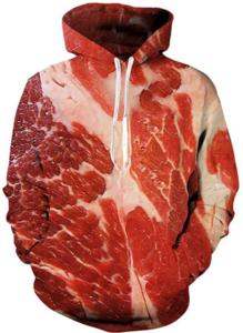 meat sweatshirt hoodie