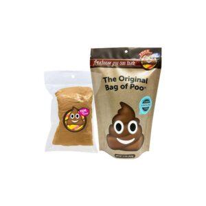 Bag of Emoji Poo Cotton Candy