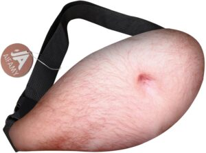 Hairy Belly Fanny Pack Gag Gift