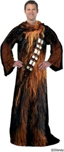 Chewbacca wearable blanket for gag gift