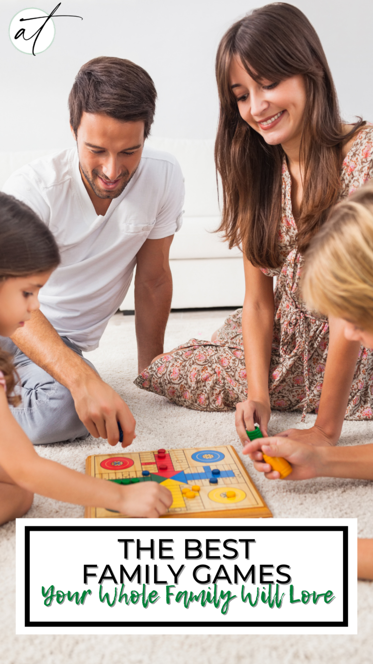 15+Fun Filled Family Games, Your Whole Family Will Love!