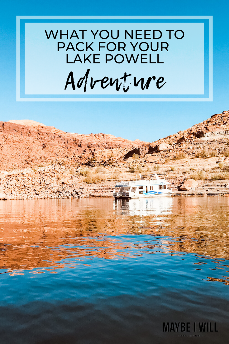 What you need to pack for your Lake Powell