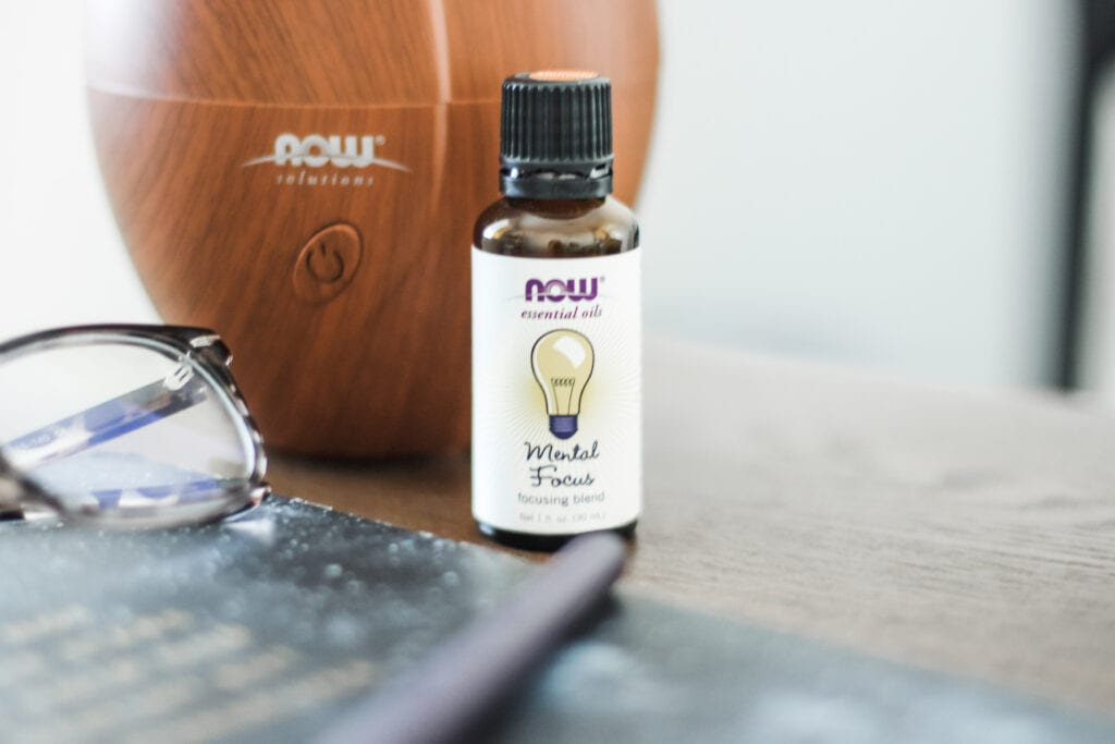 Essential Oils Blend for Mental Clarity and Focus