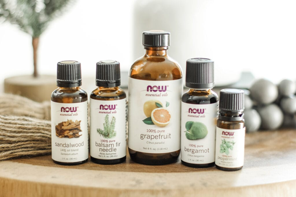 Essential Oils Blend for Setting Intentions