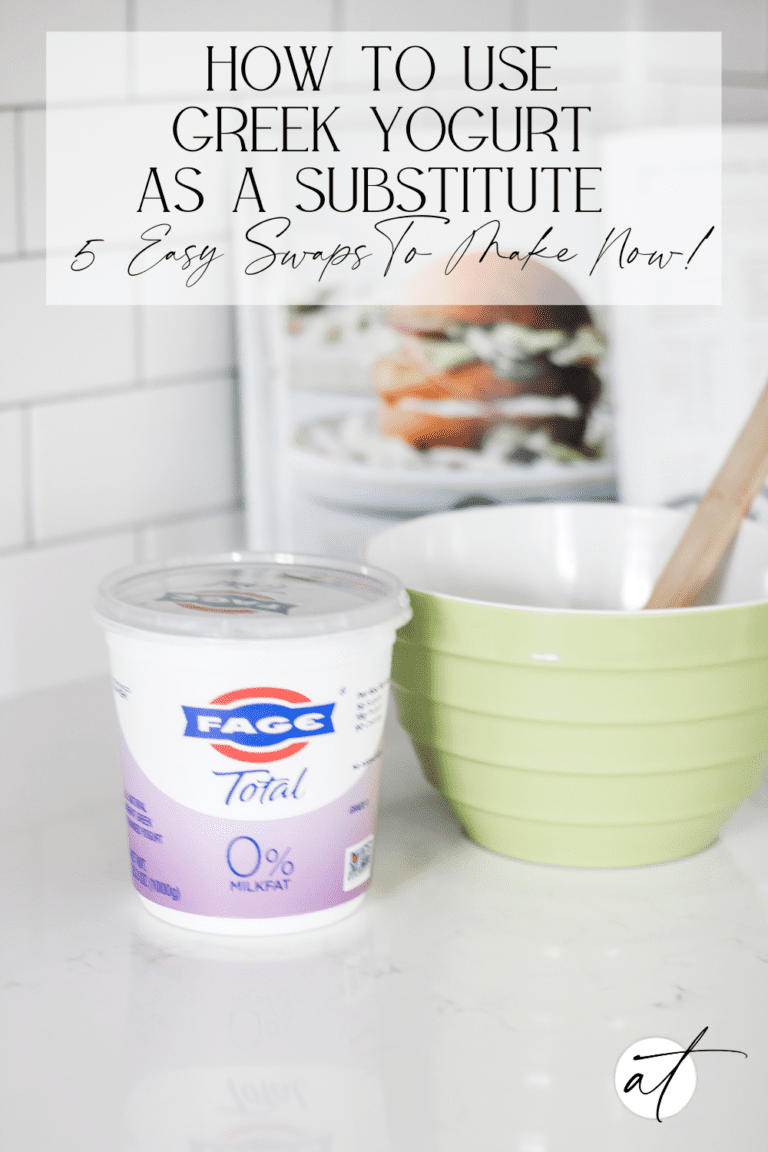 How to Use Greek Yogurt As A Substitute: 5 Simple Swaps To Make Today!