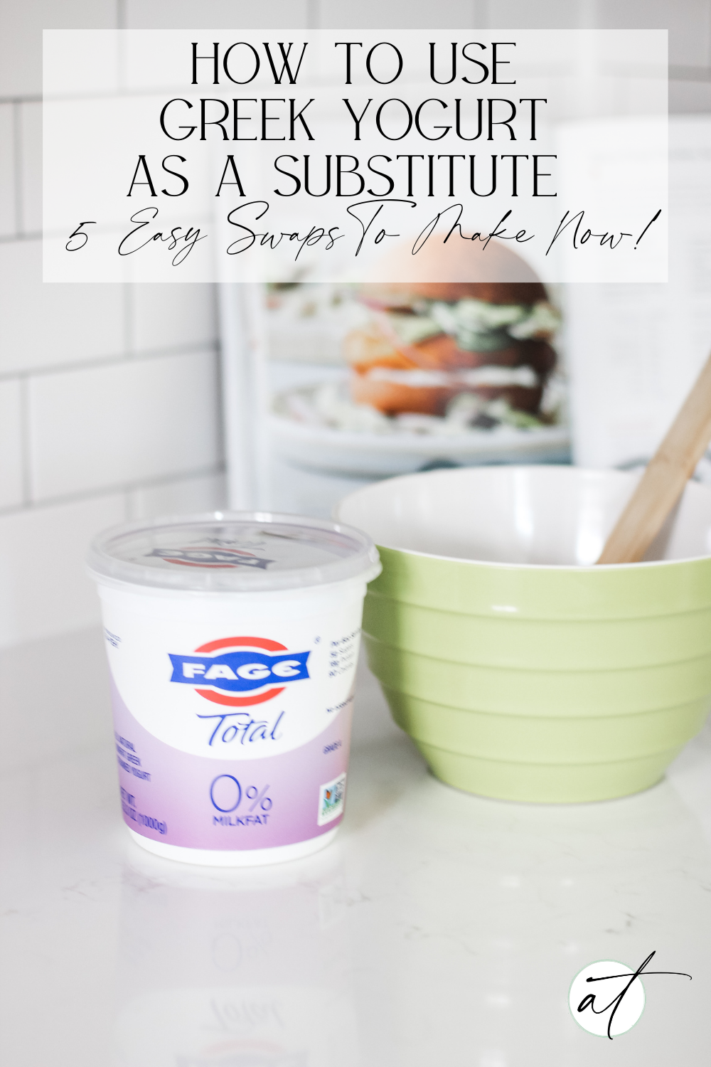 Want a simple way to cut calories and up the protein ante? This article will show you how to use Greek Yogurt as a substitute.